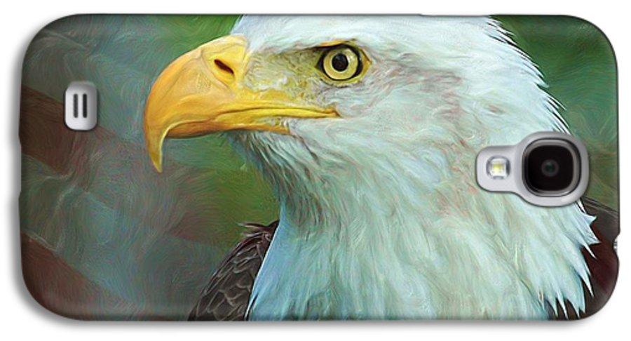 4th Galaxy S4 Case featuring the digital art Patriot by Heidi Smith