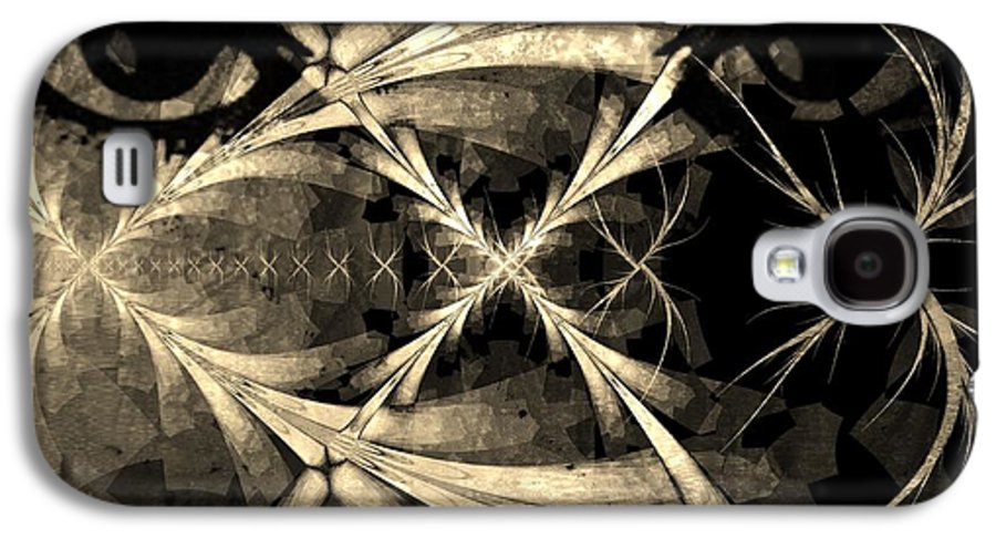 Fractal Art Galaxy S4 Case featuring the digital art Persistence Of Other Peoples Memory by Elizabeth McTaggart