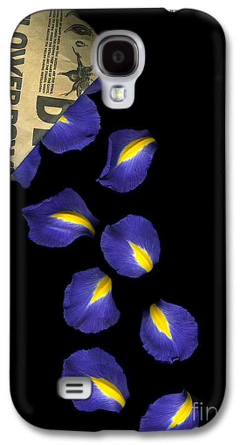 Scanography Galaxy S4 Case featuring the photograph Petal Chips by Christian Slanec
