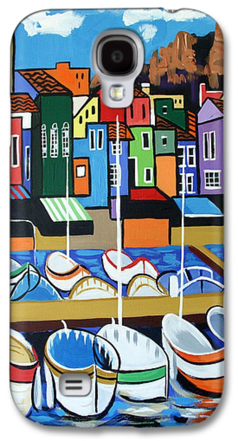 Pier One Galaxy S4 Case featuring the painting Pier One by Anthony Falbo