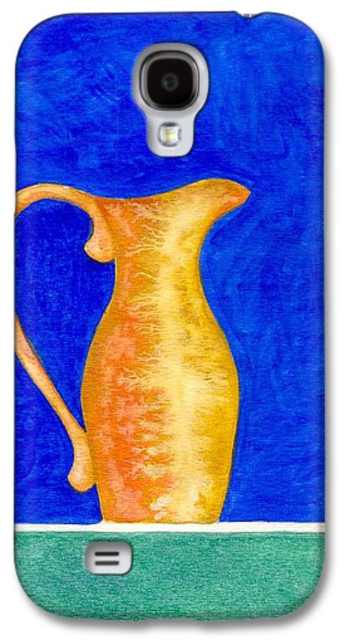 Still Life Galaxy S4 Case featuring the painting Pitcher 2 by Micah Guenther