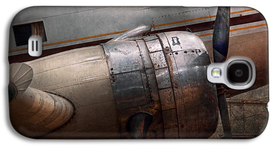 Plane Galaxy S4 Case featuring the photograph Plane - A Little Rough Around The Edges by Mike Savad