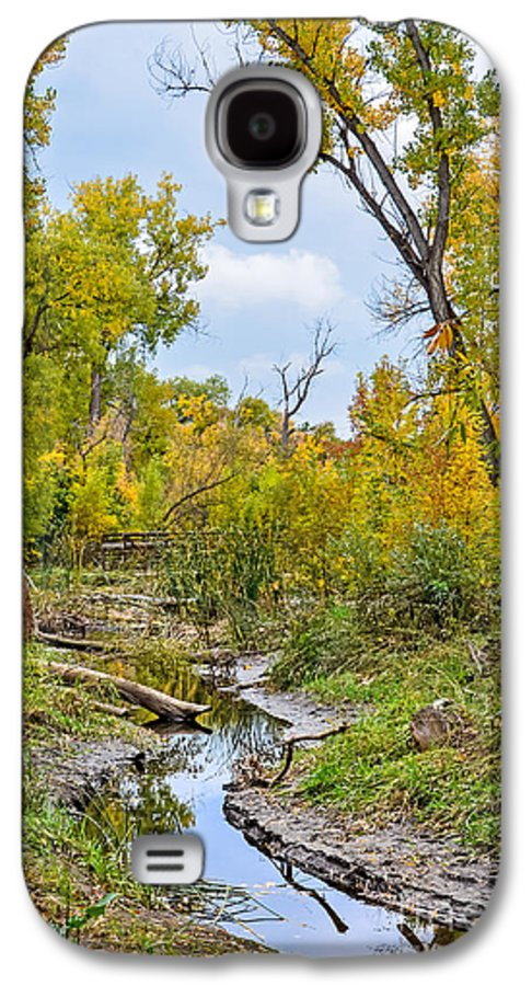 Fall Galaxy S4 Case featuring the photograph Poudre Walk-2 by Baywest Imaging