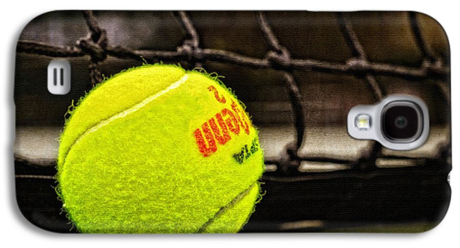 Tennis Galaxy S4 Case featuring the photograph Practice - Tennis Ball By William Patrick And Sharon Cummings by Sharon Cummings