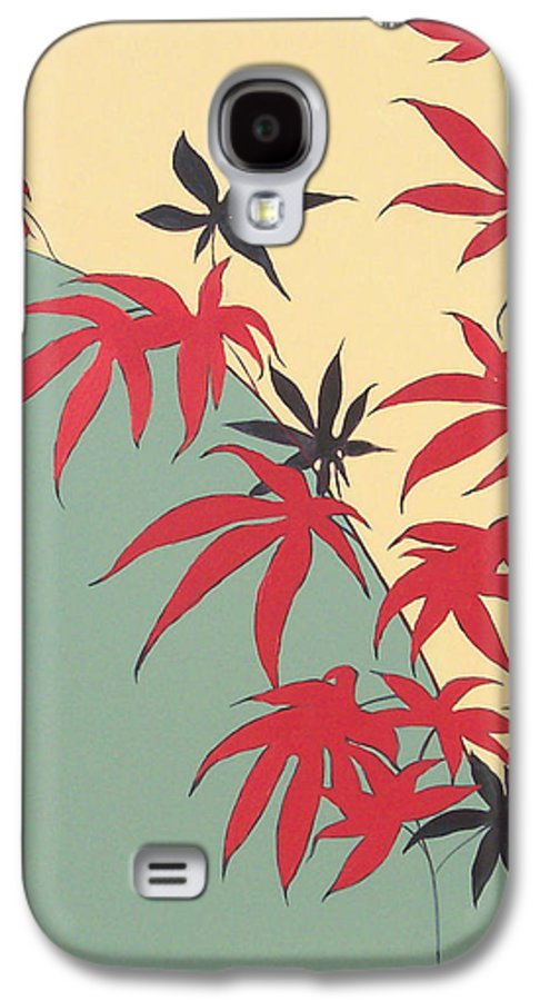 Bamboo Galaxy S4 Case featuring the painting Psycho Wabbits by Philip Fleischer