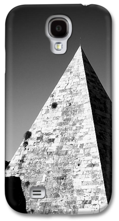 Pyramid Galaxy S4 Case featuring the photograph Pyramid Of Cestius by Fabrizio Troiani