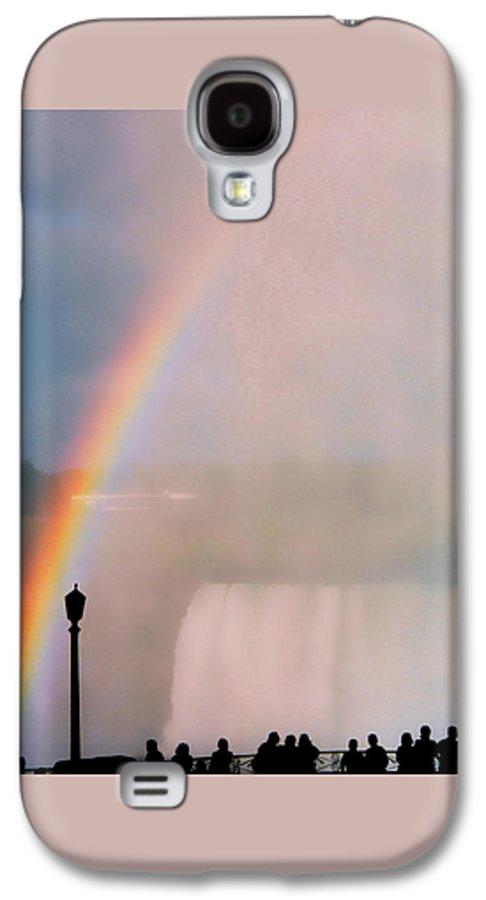 Rainbow Galaxy S4 Case featuring the photograph Rainbow Falls by Pharris Art