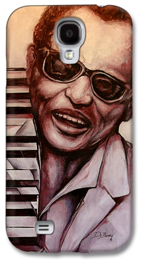 Original Fine Art By Lloyd Deberry Galaxy S4 Case featuring the painting Ray The Print by Lloyd DeBerry