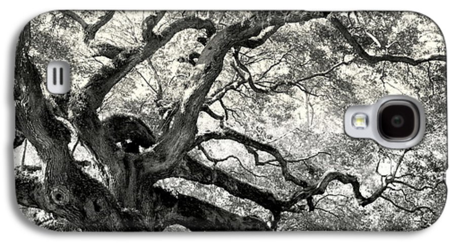 Abstract Trees Galaxy S4 Case featuring the photograph Reaching For Heaven by Karen Wiles