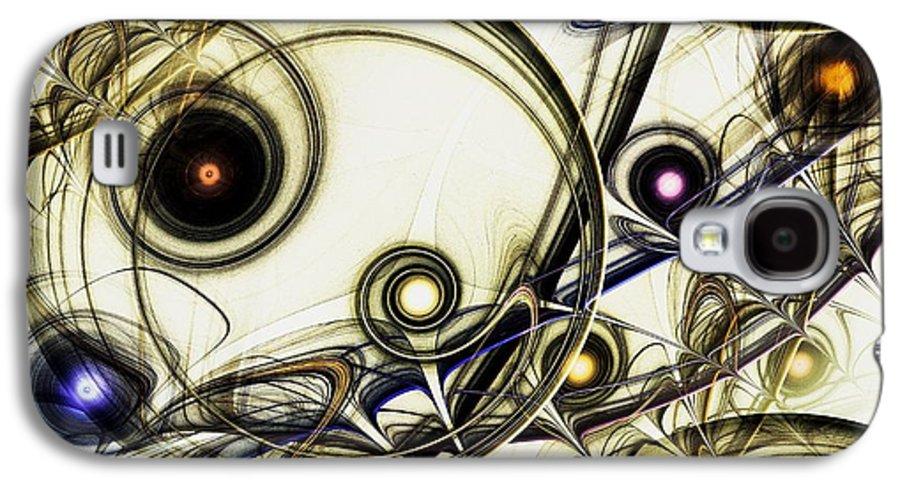 Malakhova Galaxy S4 Case featuring the digital art Rejuvenation by Anastasiya Malakhova