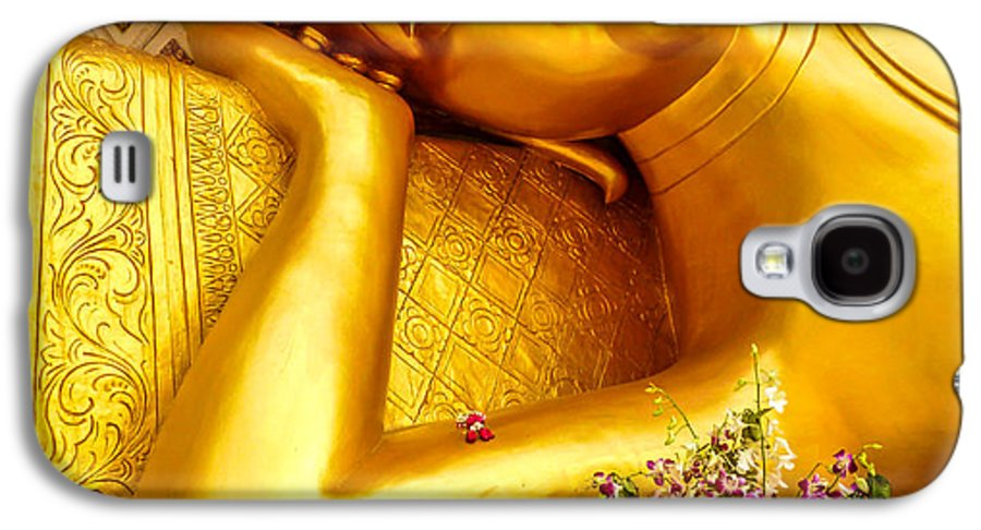 Buddha Galaxy S4 Case featuring the photograph Relaxing Contemplation by Allan Rufus