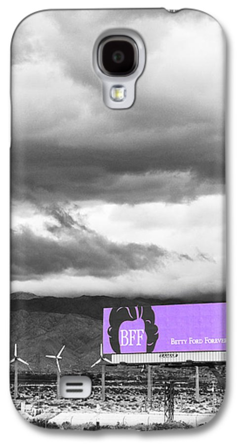 Windmills Galaxy S4 Case featuring the photograph Remembrance Palm Springs First Lady Betty Ford by William Dey