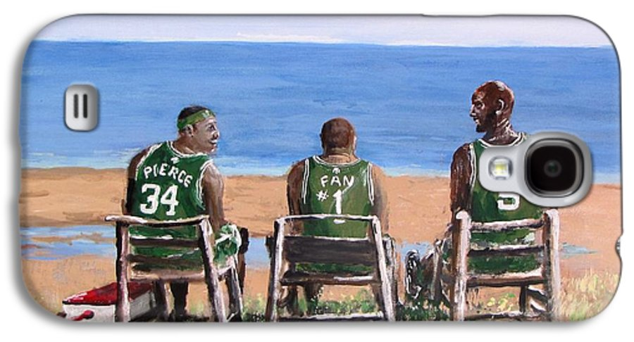 Boston Galaxy S4 Case featuring the painting Reminiscing The Good Old Days by Jack Skinner