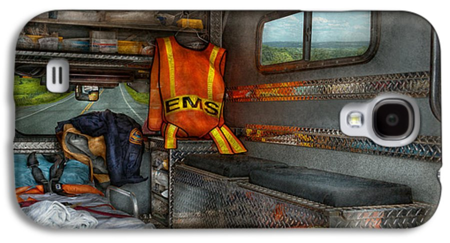 Rescue Galaxy S4 Case featuring the photograph Rescue - Emergency Squad by Mike Savad