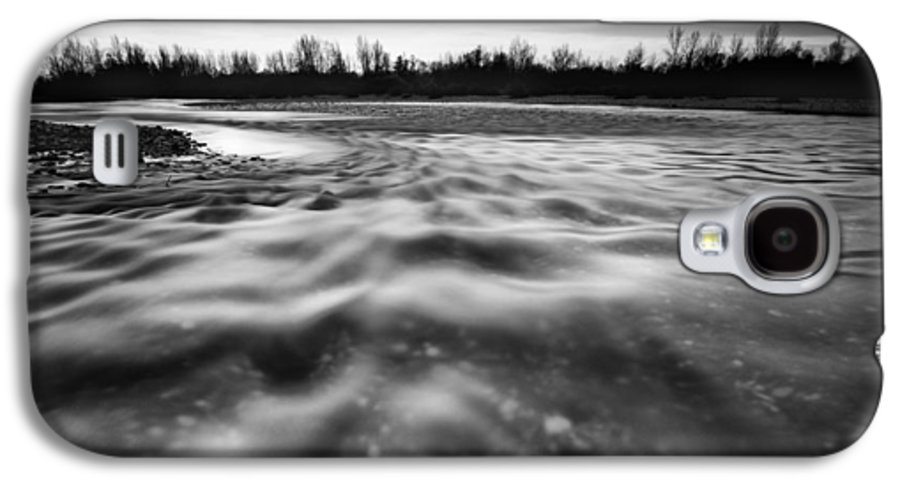 Landscapes Galaxy S4 Case featuring the photograph Restless River II by Davorin Mance