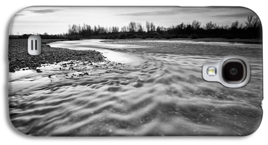 Landscapes Galaxy S4 Case featuring the photograph Restless River IIi by Davorin Mance
