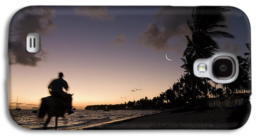 3scape Photos Galaxy S4 Case featuring the photograph Riding On The Beach by Adam Romanowicz