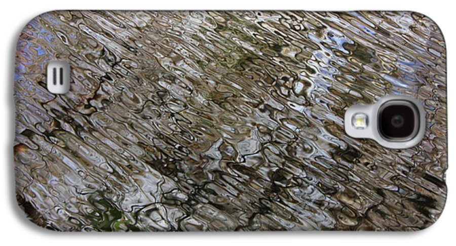 Nature Abstract Galaxy S4 Case featuring the photograph Ripples In The Swamp by Carol Groenen