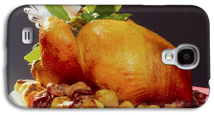 Christmas Galaxy S4 Case featuring the photograph Roast Turkey by The Irish Image Collection