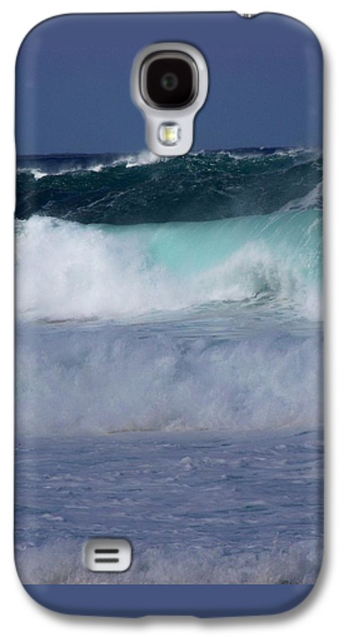 Surfing Galaxy S4 Case featuring the photograph Rolling Thunder by Karen Wiles