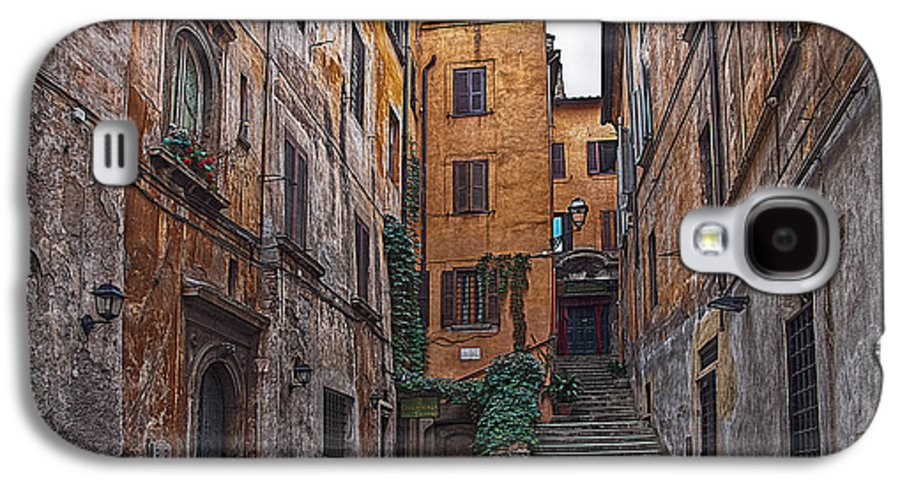 Rom Galaxy S4 Case featuring the photograph Roman Backyard by Hanny Heim