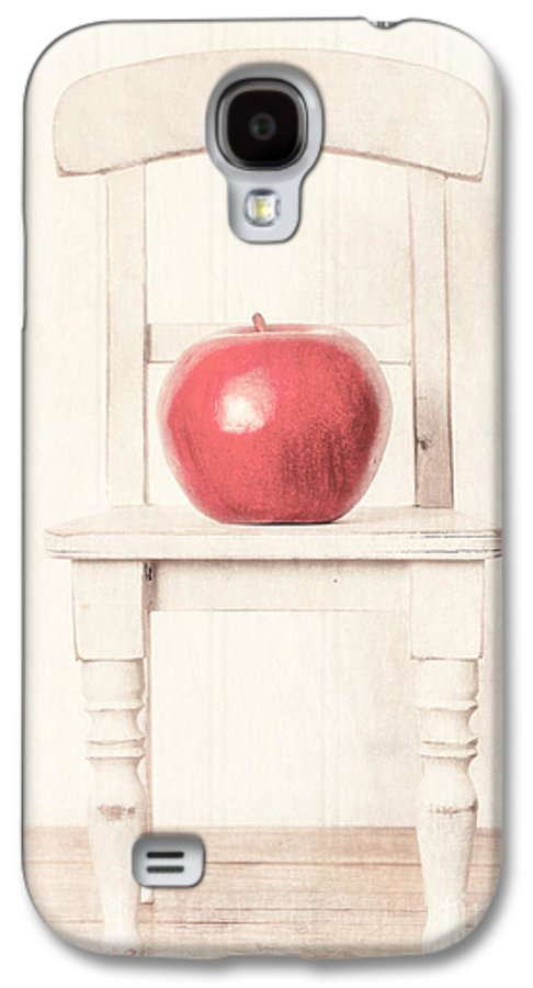 Chair Galaxy S4 Case featuring the photograph Romantic Apple Still Life by Edward Fielding