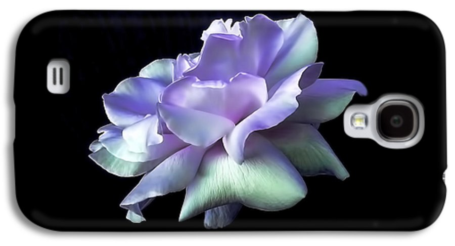 Rose Galaxy S4 Case featuring the photograph Rose Awakening Floral by Jennie Marie Schell