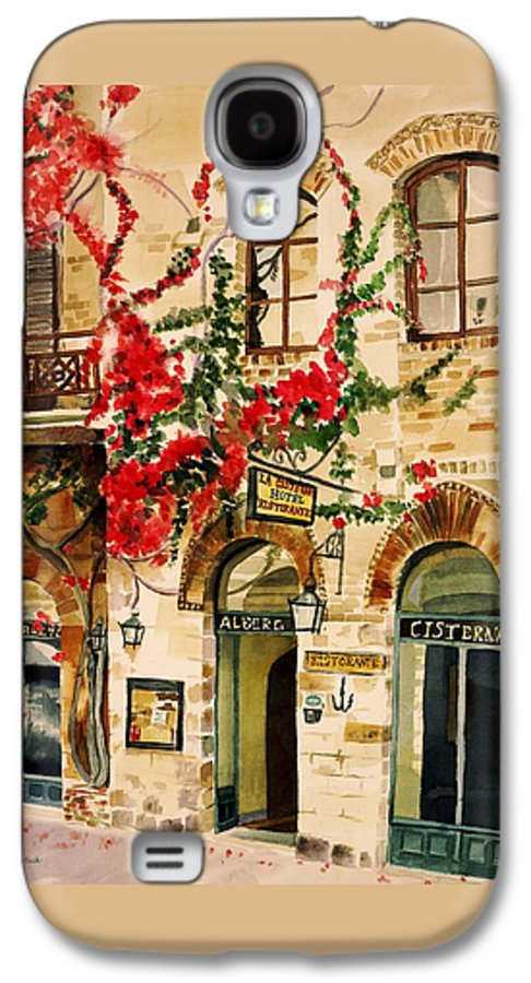 Award-winning Galaxy S4 Case featuring the painting San Gimignano by Judy Swerlick