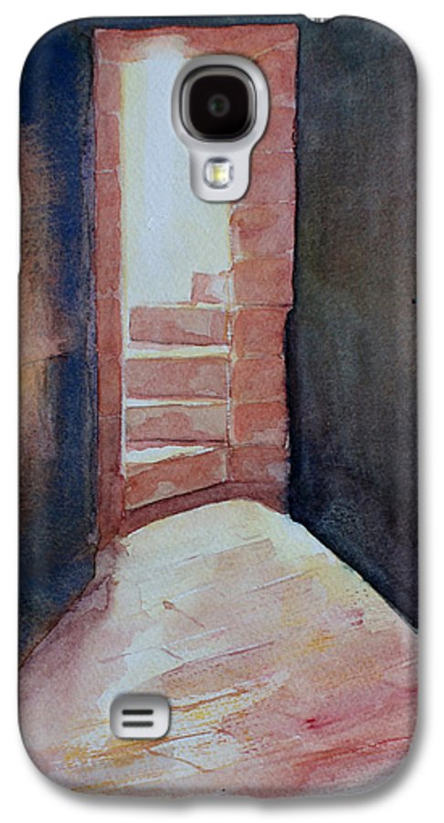 Light Galaxy S4 Case featuring the painting Secrets by Janice Gell