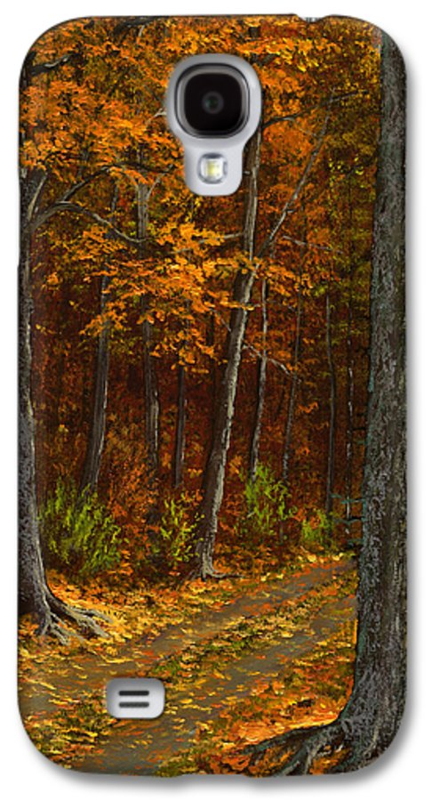Landscape Galaxy S4 Case featuring the painting Seldom Used by Frank Wilson