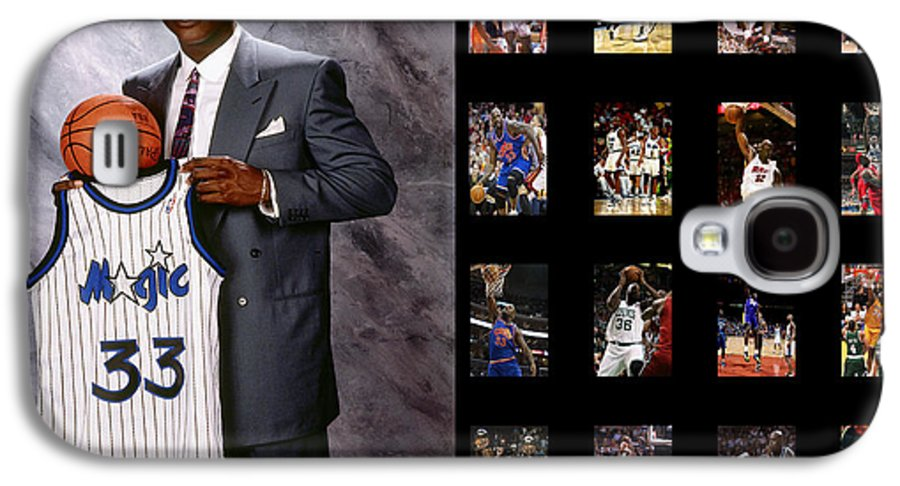 Shaquille O'neal Galaxy S4 Case featuring the photograph Shaquille O'neal by Joe Hamilton