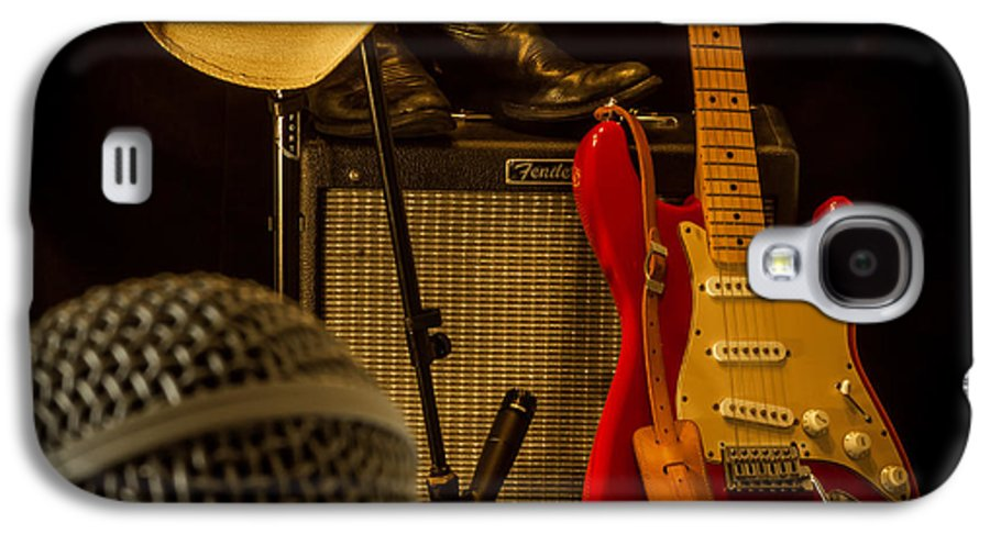 Guitar Galaxy S4 Case featuring the photograph Show's Over by Robert Frederick