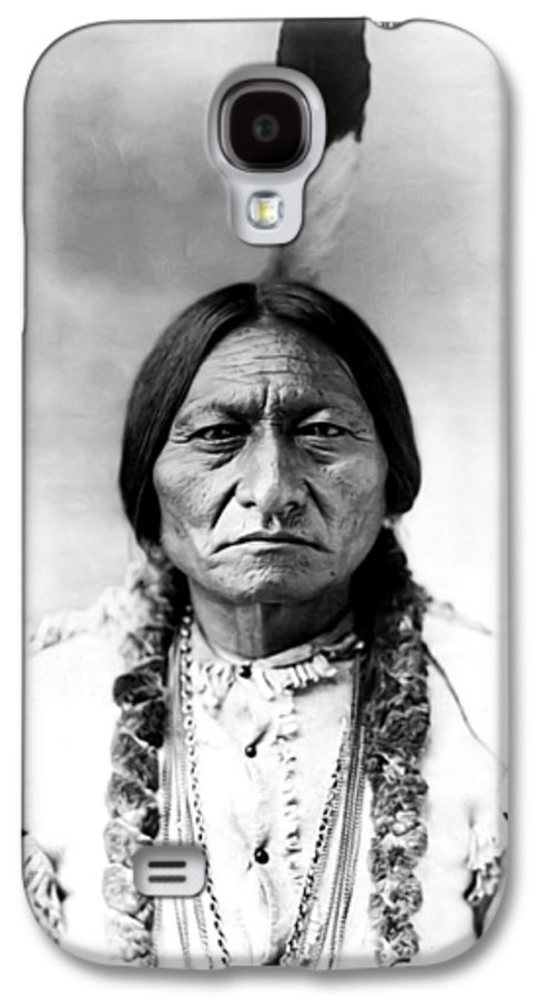 Sitting Bull Galaxy S4 Case featuring the photograph Sitting Bull by Bill Cannon
