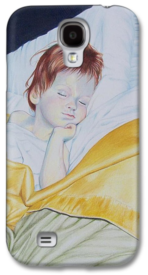 Baby Galaxy S4 Case featuring the mixed media Sleeping Beauty by Constance Drescher
