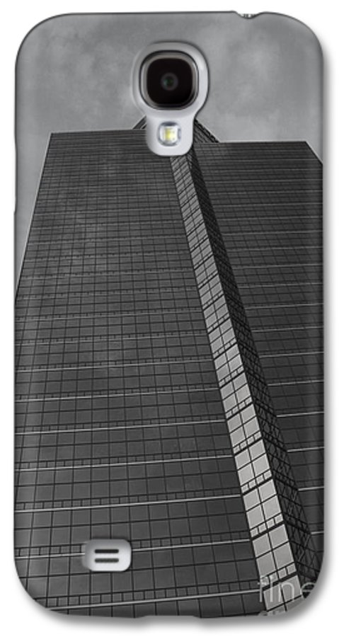 Landscap Galaxy S4 Case featuring the photograph Southfield Hi Rise Black And White by Bill Woodstock
