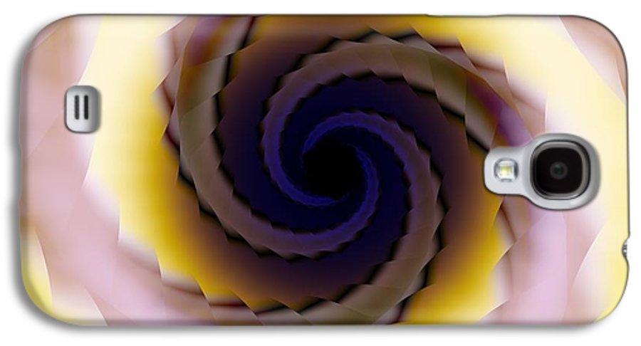 Spiral Galaxy S4 Case featuring the digital art Spiral by Elizabeth McTaggart
