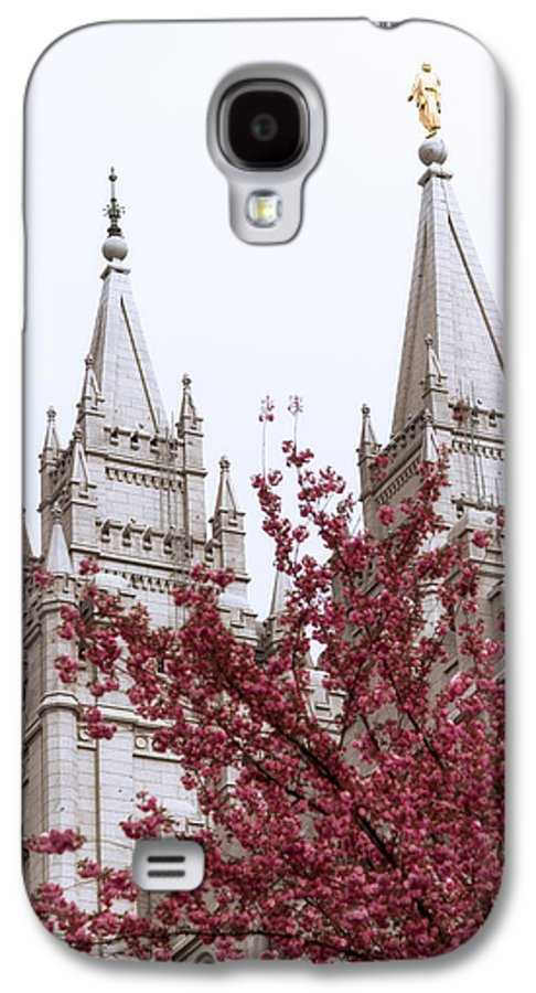 Spring At The Temple Galaxy S4 Case featuring the photograph Spring At The Temple by Chad Dutson