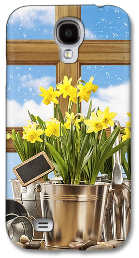 Spring Galaxy S4 Case featuring the photograph Spring Window by Amanda Elwell