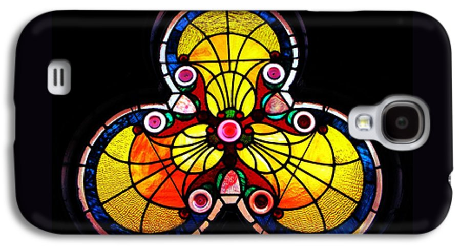 Window Galaxy S4 Case featuring the photograph Stained Glass by Chris Berry