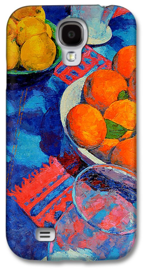Still Life Galaxy S4 Case featuring the painting Still Life 2 by Iliyan Bozhanov