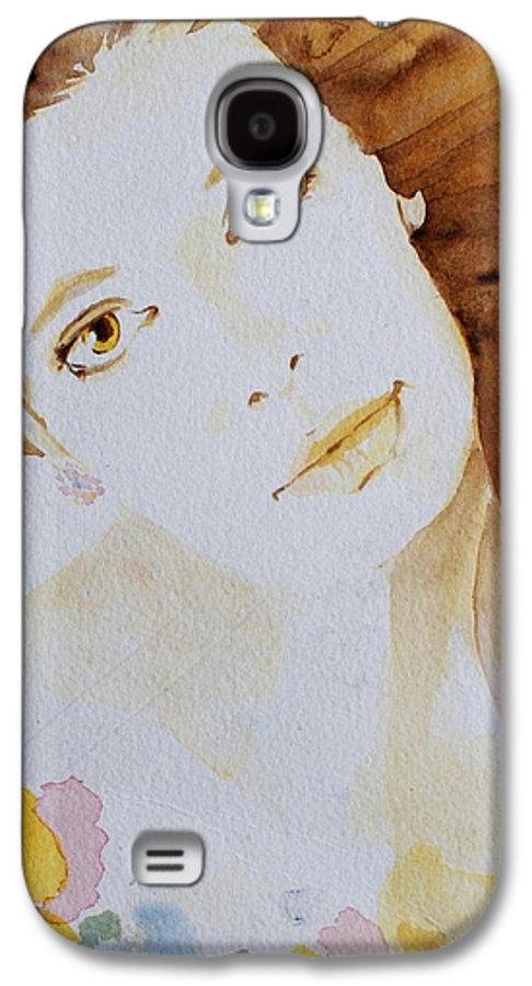 Watercolour Galaxy S4 Case featuring the painting Still Waters' Reflection by Janice Gell