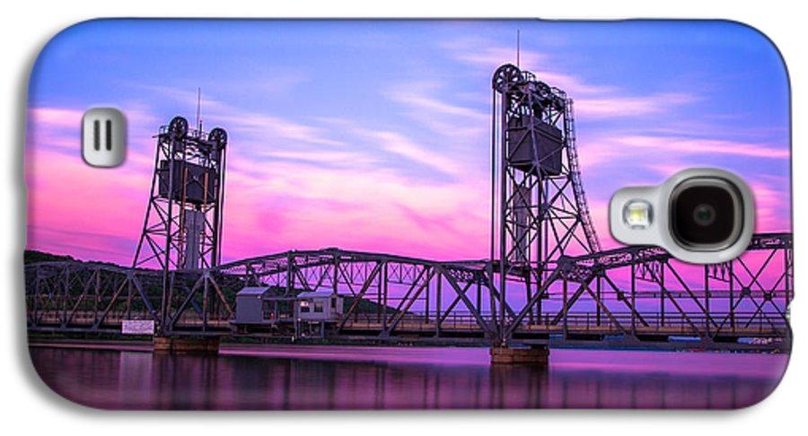 Landscape Galaxy S4 Case featuring the photograph Stillwater Lift Bridge by Adam Mateo Fierro