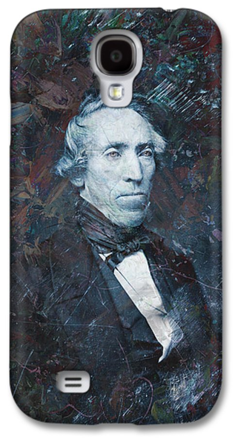 Daguerrotype Galaxy S4 Case featuring the painting Strange Fellow 1 by James W Johnson