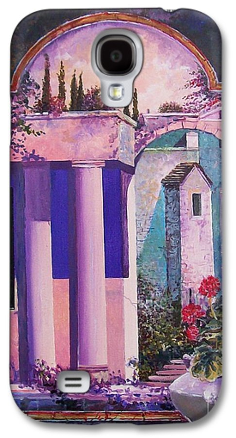 Still Life Galaxy S4 Case featuring the painting Structures With Emotional Dimensions by Sinisa Saratlic