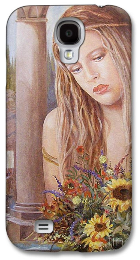 Portrait Galaxy S4 Case featuring the painting Summer Day by Sinisa Saratlic