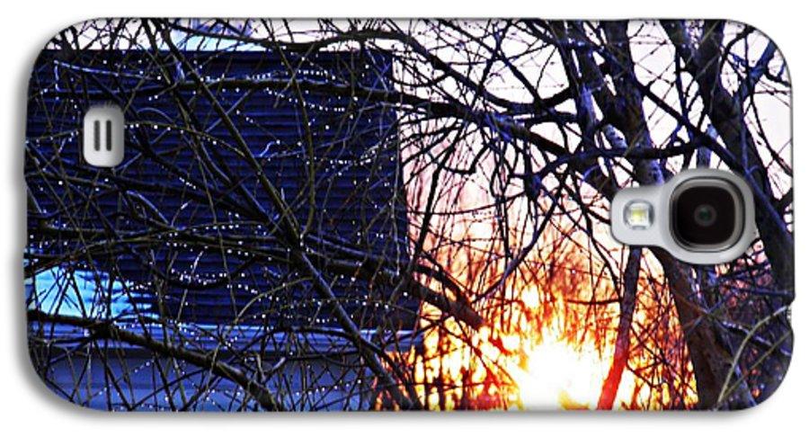 Sunrise Next Door Galaxy S4 Case featuring the photograph Sunrise Next Door by Sarah Loft