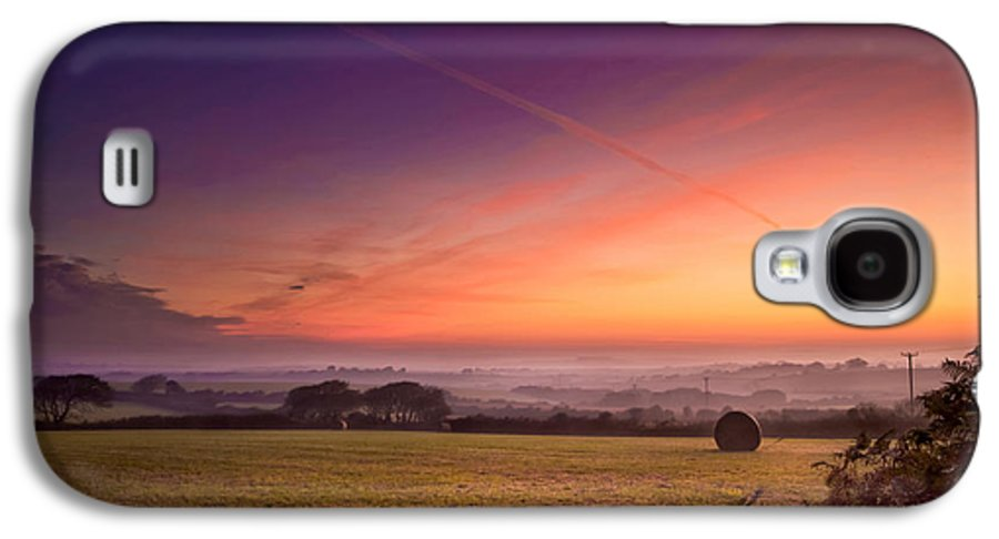 Landscape Galaxy S4 Case featuring the photograph Sunrise Over Cornwall by Christine Smart