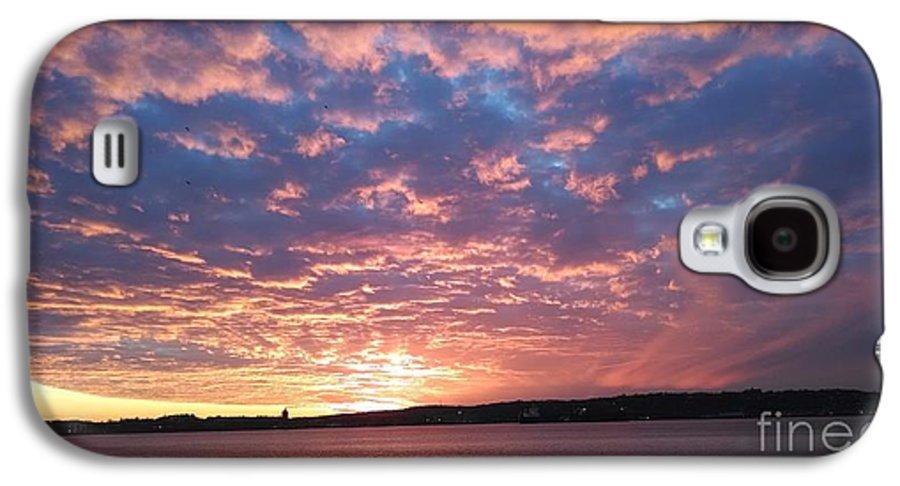 Sunset Over The Narrows Waterway Galaxy S4 Case featuring the photograph Sunset Over The Narrows Waterway by John Telfer