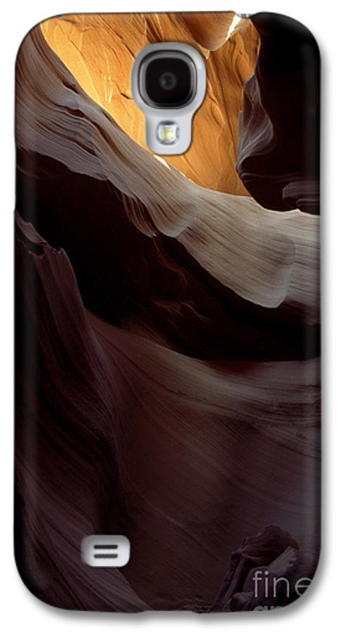 Slot Canyons Galaxy S4 Case featuring the photograph Swopes by Kathy McClure