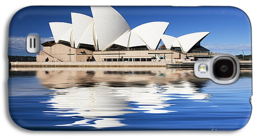Sydney Opera House Galaxy S4 Case featuring the photograph Sydney Icon by Sheila Smart Fine Art Photography